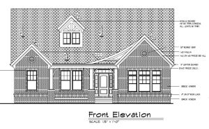 7663 Carriage House Front exterior